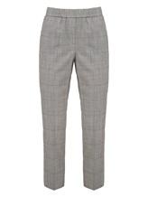 Брюки (текстиль) Peserico P04572 75% шерсть, 22% полиамид, 2% эластан, 1% полиэстер Серый Италия изображение 0