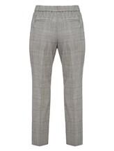 Брюки (текстиль) Peserico P04572 75% шерсть, 22% полиамид, 2% эластан, 1% полиэстер Серый Италия изображение 1