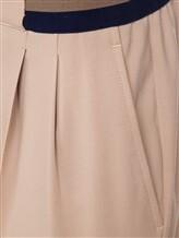Брюки (текстиль) IRISvARNIM 191601 98% шерсть, 2% эластан Бежевый Италия изображение 2