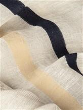 Палантин (текстиль) Lorena Antoniazzi LP35103SC1 80% лён, 20% хлопок Светло-серый Италия изображение 1