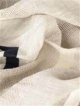 Палантин (текстиль) Lorena Antoniazzi LP35103SC1 80% лён, 20% хлопок Светло-серый Италия изображение 2