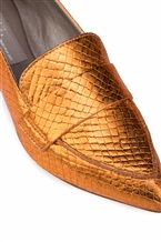 Балетки Attilio Giusti Leombruni D538056 100% кожа ягненка Оранжевый Италия изображение 5