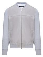 Куртка Capobianco 6M173 100% кожа Серый Италия изображение 0