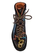 Ботинки Santoni WTWE57755 100% кожа теленка Черный Италия изображение 4