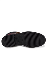 Ботинки Santoni WTWE57755 100% кожа теленка Черный Италия изображение 6