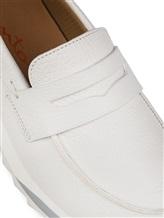 Туфли Santoni WBFL60494 100% кожа теленка Белый Италия изображение 5