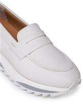 Туфли Santoni WBFL60494 100% кожа теленка Белый Италия изображение 11