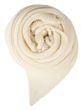 Палантин (трикотаж) Agnona AS408Y 65% кашемир, 35% шёлк Белый Италия изображение 0