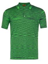 Поло Missoni MUL00020 100%хлопок Зеленый Италия изображение 0