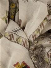 Палантин (текстиль) Faliero Sarti 1034 85% хлопок, 15% полиэстер Бежево-коричневый Италия изображение 1