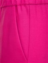 Брюки (текстиль) Cividini Q08CC798 98% шерсть, 2% эластан Фуксия Италия изображение 2