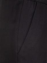 Брюки (текстиль) Cividini Q08CC798 98% шерсть, 2% эластан Черный Италия изображение 2