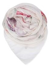 Палантин (текстиль) Faliero Sarti 2088 64% модал, 24% купра, 7% кашемир, 5% полиэстер Натуральный Италия изображение 0