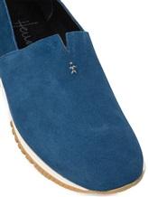 Кеды Henry Beguelin SU3807 100% кожа теленка Синий Италия изображение 1