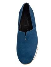 Кеды Henry Beguelin SU3807 100% кожа теленка Синий Италия изображение 5