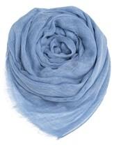 Палантин (текстиль) Agnona AS515Y 100% кашемир Голубой Италия изображение 0