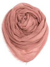 Палантин (текстиль) Agnona AS515Y 100% кашемир Грязно-розовый Италия изображение 0