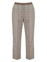 Брюки (текстиль) Agnona 79010Y 98% шерсть, 2% эластан Серый Италия изображение 0
