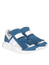 Кроссовки Lorena Antoniazzi LP35107S4 100% Нубук Бело-голубой Италия изображение 0