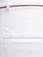 Брюки (текстиль) Peserico P04785L10A 95% хлопок 5% эластан Белый Италия изображение 2