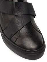 Кеды Henry Beguelin SU3802 80% кожа ягненка, 20% кожа теленка Черный Италия изображение 1
