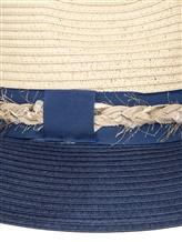 Шляпа Lorena Antoniazzi LP35123CP1 100% рафия Бежево-синий Италия изображение 1