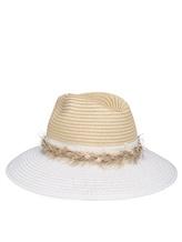 Шляпа Lorena Antoniazzi LP35123CP1 100% рафия Натуральный Италия изображение 0