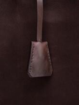 Сумка Santoni UFBBA1781 100% кожа теленка Темно-коричневый Италия изображение 3