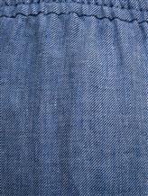 Брюки (текстиль) Agnona 74010Y 100% лён Голубой Италия изображение 2