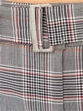 Брюки (текстиль) Peserico P04661H00A 54% шерсть, 42% вискоза, 4% эластан Серый Италия изображение 2