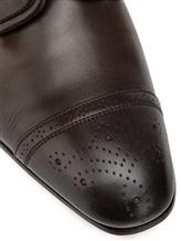 Туфли Santoni MCLE16325 100% кожа теленка Темно-коричневый Италия изображение 1