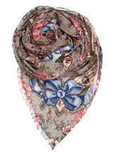 Палантин (текстиль) Faliero Sarti 1029 64% хлопок, 36% полиэстер Мультиколор Индия изображение 0