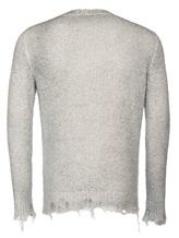 Джемпер AVANT TOI 219U2250 75% хлопок, 20% полиамид, 5% эластан Светло-серый Италия изображение 1