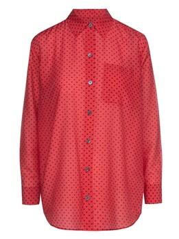 Блузка (текстиль) Equipment Femme E002