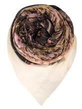 Платок Faliero Sarti 1009 95% хлопок, 5% полиэстер Серо-розовый Индия изображение 0