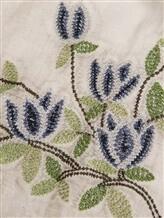 Палантин (текстиль) Faliero Sarti 1017 58% хлопок, 22% полиэстер, 20% вискоза Серо-бежевый Италия изображение 1