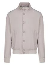 Куртка Herno GI0163U 66% полиамид, 19% хлопок, 15% эластан Светло-серый Италия изображение 0