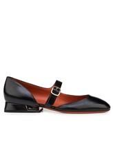 Туфли Santoni WDDT57717 100% кожа теленка Черный Италия изображение 1