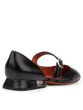 Туфли Santoni WDDT57717 100% кожа теленка Черный Италия изображение 3