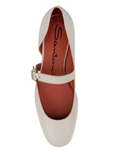 Туфли Santoni WDDT57717 100% кожа теленка Натуральный Италия изображение 4