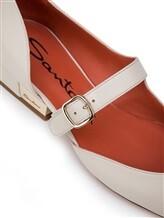 Туфли Santoni WDDT57717 100% кожа теленка Натуральный Италия изображение 5
