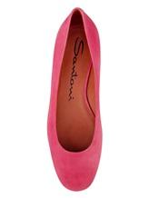 Туфли Santoni WDDT57819 100% кожа теленка Розовый Италия изображение 4