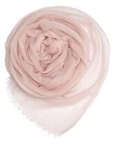 Палантин Agnona AS420Y 100% кашемир Бледно-розовый Италия изображение 0
