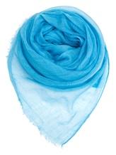 Палантин Agnona AS420Y 100% кашемир Голубой Италия изображение 0