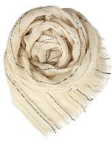 Палантин (текстиль) Lorena Antoniazzi LP35102SC1 90% лён, 10% хлопок Натуральный Италия изображение 0