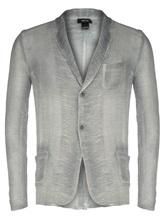 Пиджак (текстиль) AVANT TOI 219U2600 60% лён, 40% хлопок Серый Италия изображение 4