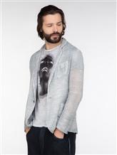 Пиджак (текстиль) AVANT TOI 219U2600 60% лён, 40% хлопок Серый Италия изображение 2