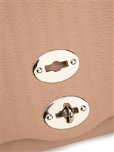 Сумка ZANELLATO 06138 100% кожа теленка Светло-бежевый Италия изображение 5