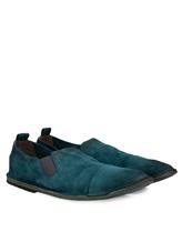 Туфли Marsell MM1450 100% кожа оленя Бирюзовый Италия изображение 0
