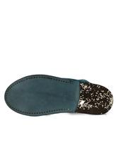 Туфли Marsell MM1450 100% кожа оленя Бирюзовый Италия изображение 6